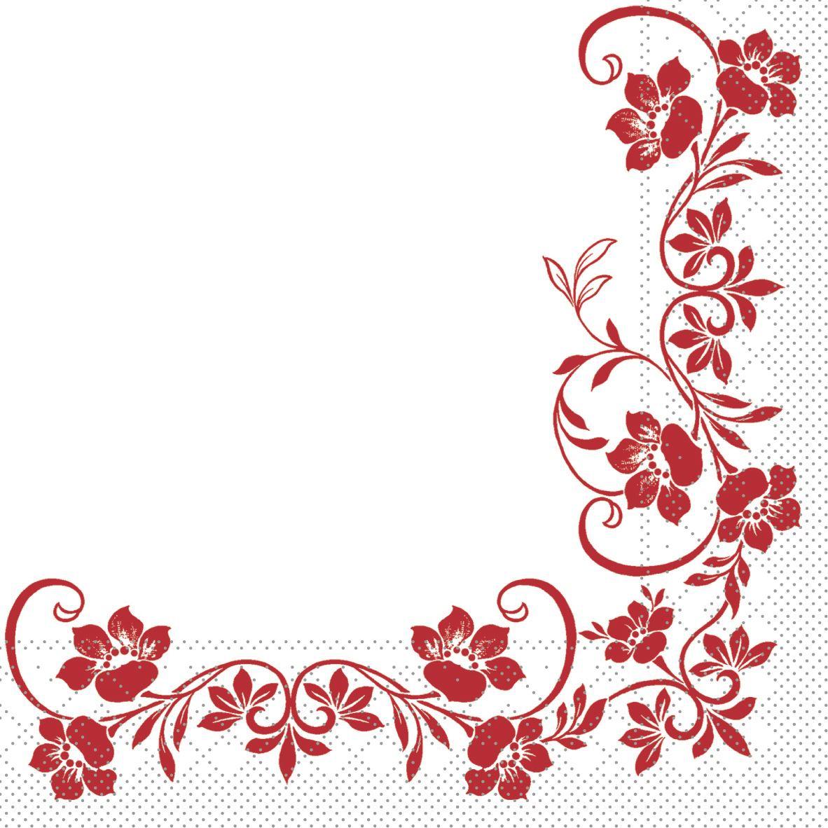 Tissue Servietten 33x33 cm - Katja (bordeauxfarben)