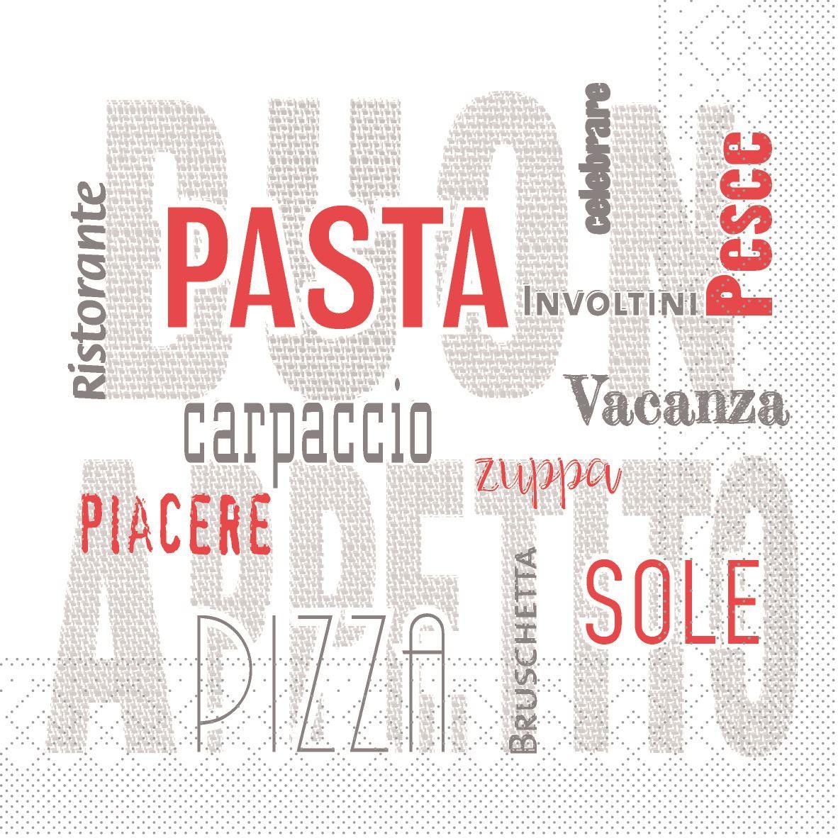 Tissue Servietten 40x40 cm - Pasta