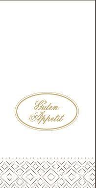 Tissue Servietten 33x33 cm - Guten Appetit