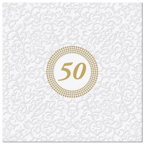 Servietten 33x33 cm - Inspiration Symbol 50