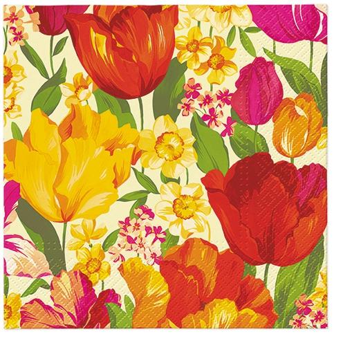 Servietten 33x33 cm - Flowering Spring