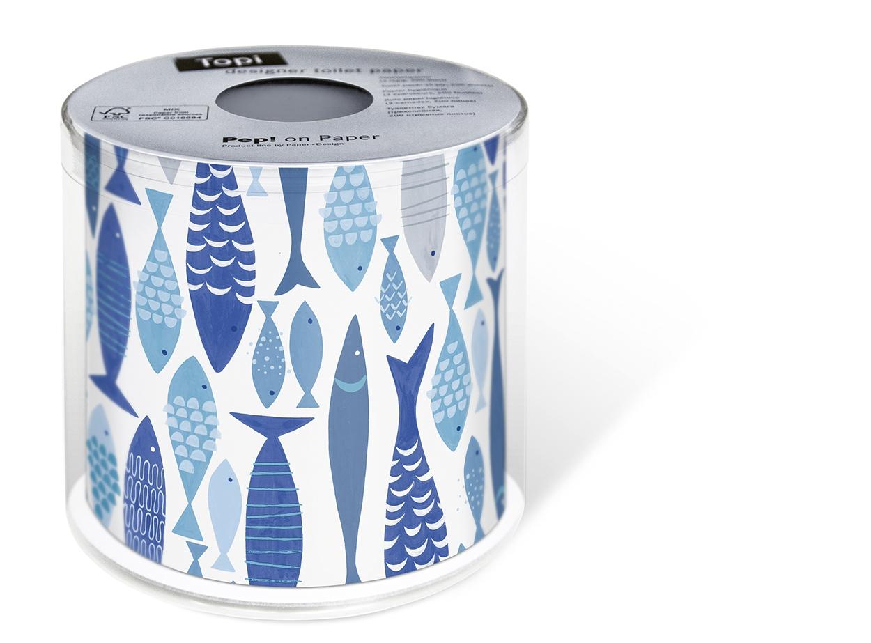 Toilettenpapier - Topi Fischschwarm