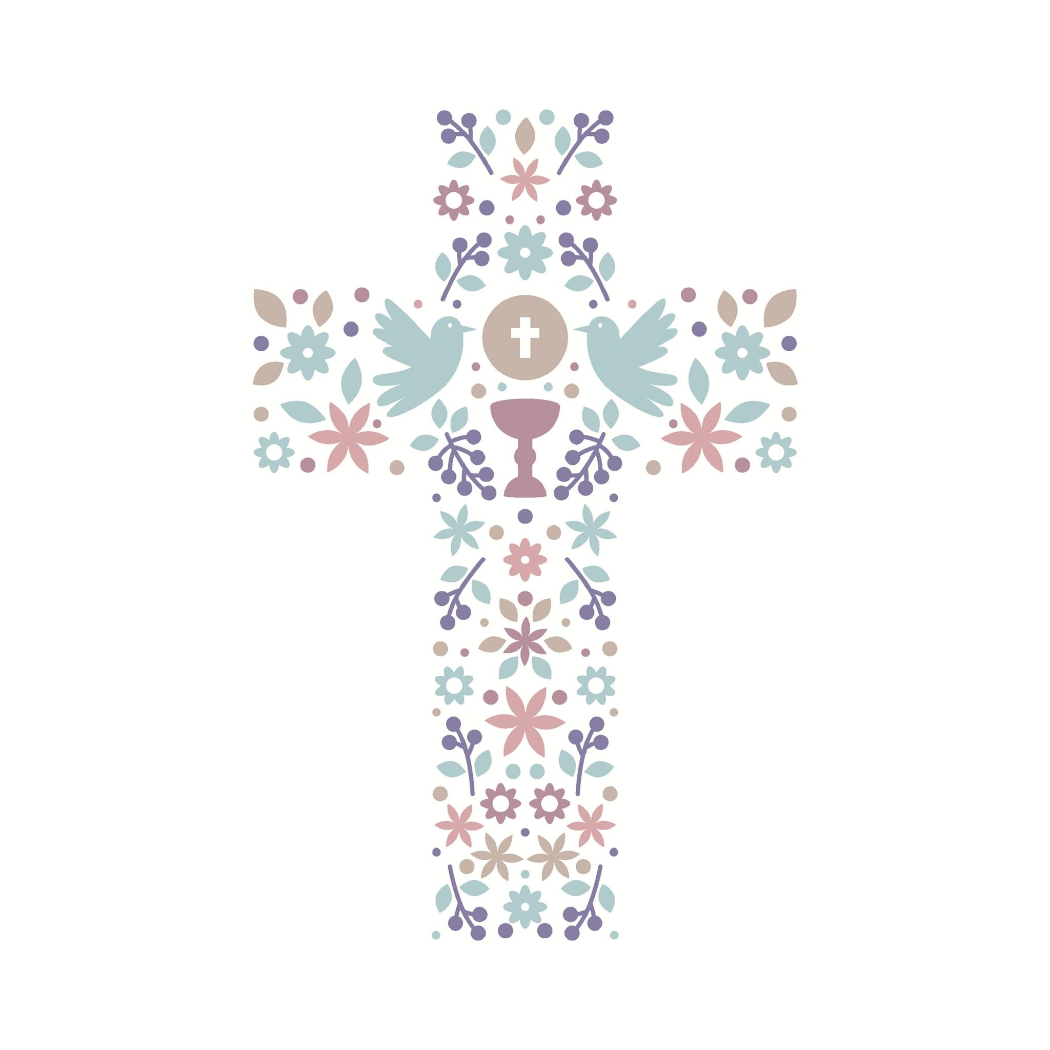 Servietten 33x33 cm - Das Kreuz