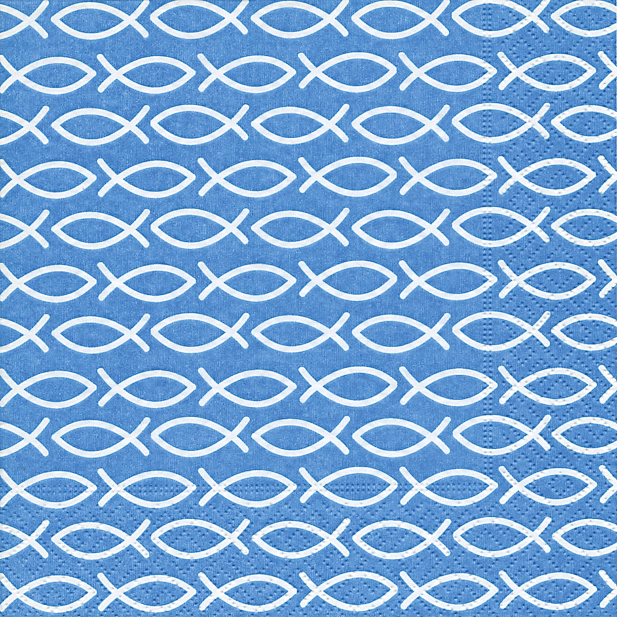 Servietten 33x33 cm - Religiöses Blau