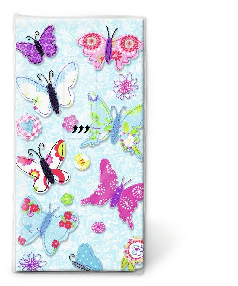 Taschentücher - Handmade butterflies