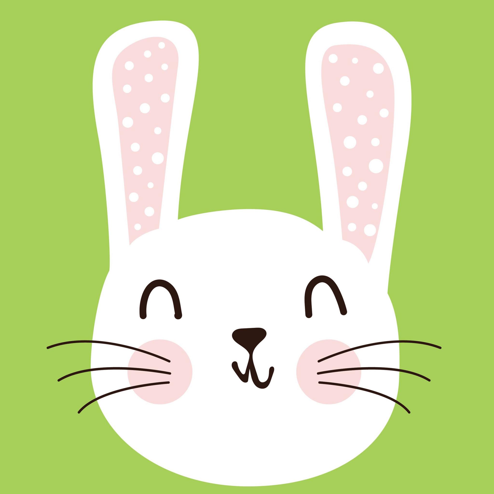 Servietten 33x33 cm - Cute Bunny