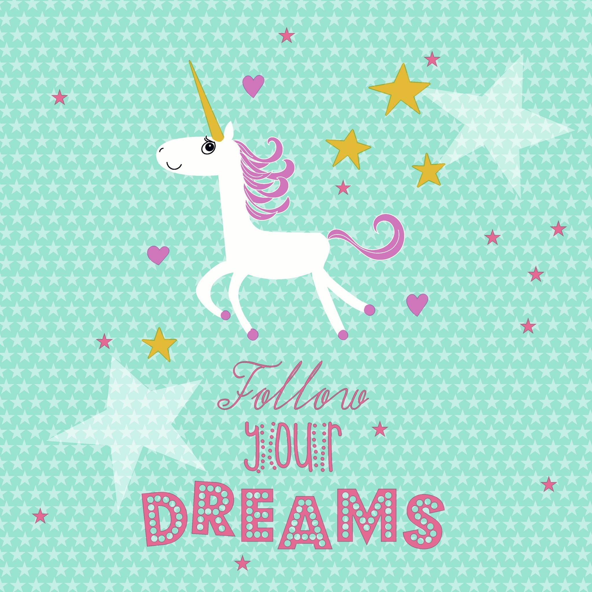 Servietten 33x33 cm - Follow your dreams