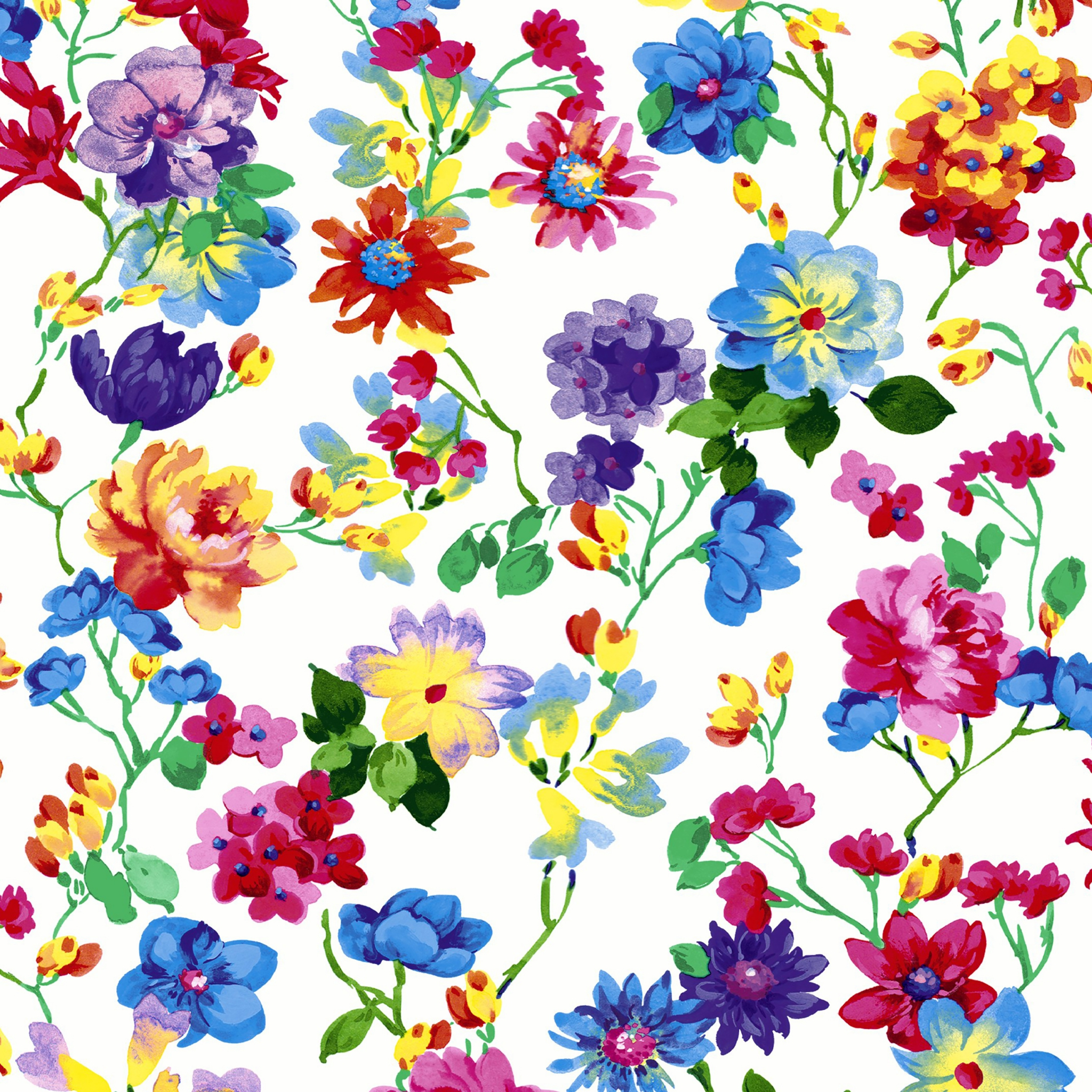 Servietten 33x33 cm - Bed of flowers
