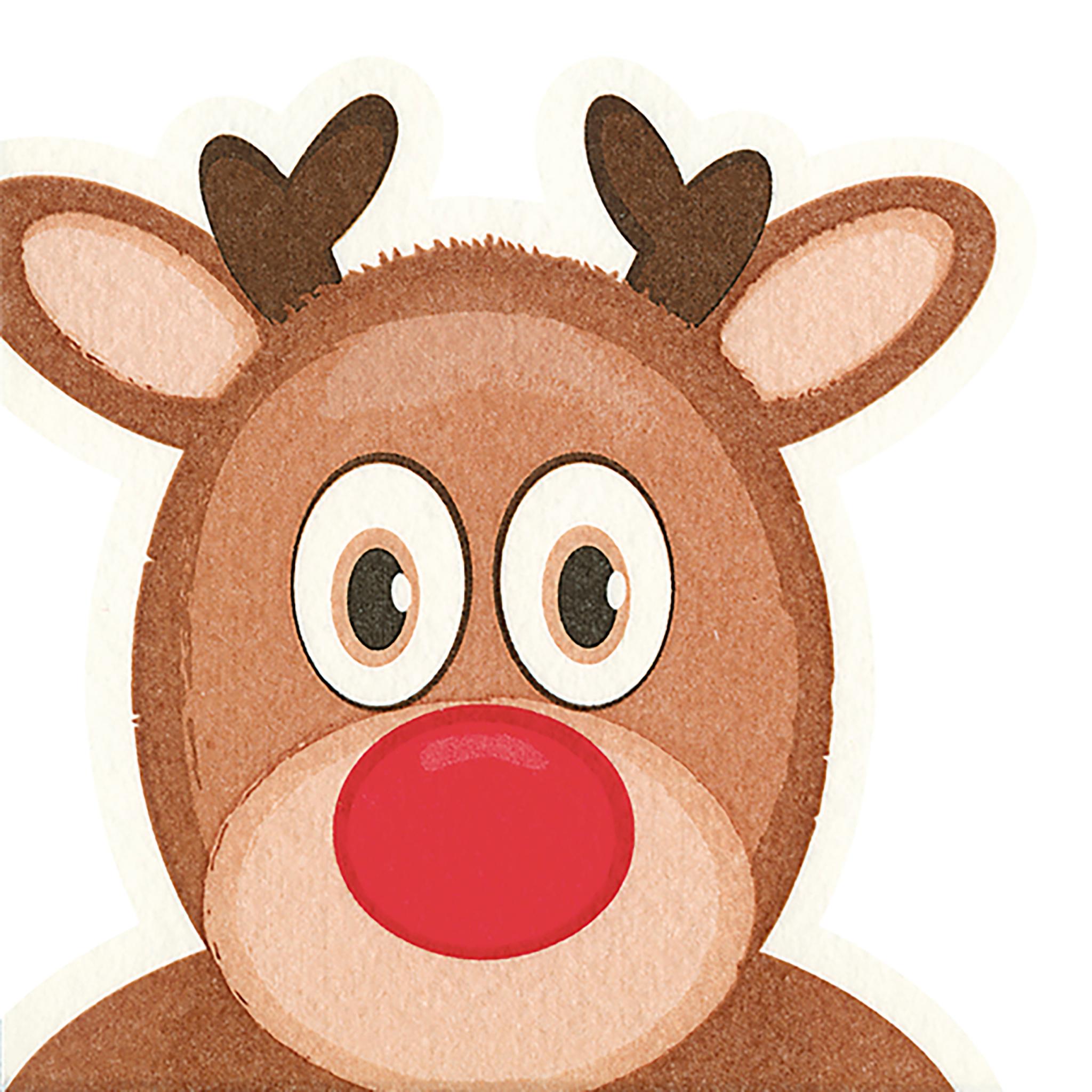 Gestanzte Servietten - Elk