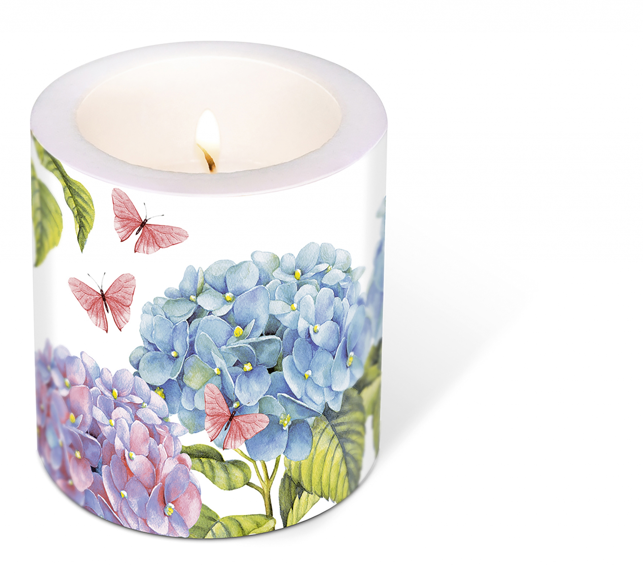 Dekorkerze - Candle Gentle hydrangea