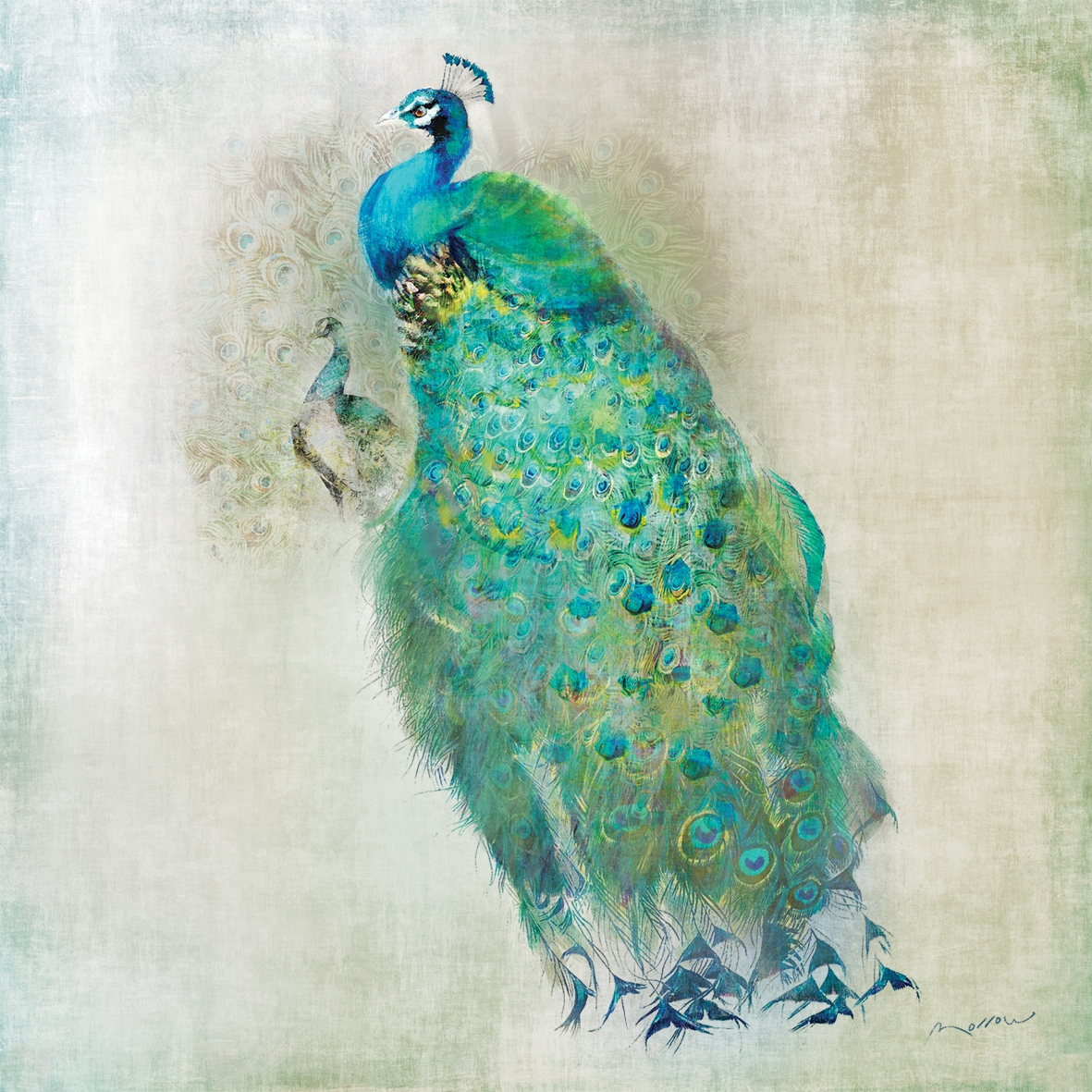 Lunch Servietten Peacock Royale
