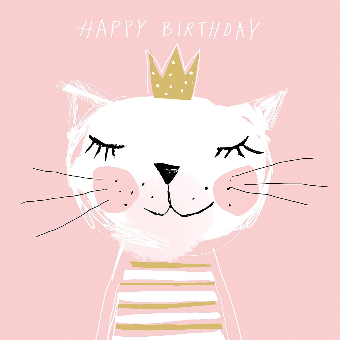 Servietten 33x33 cm - Herzlichen Glückwunsch zum Geburtstag Prinzessin