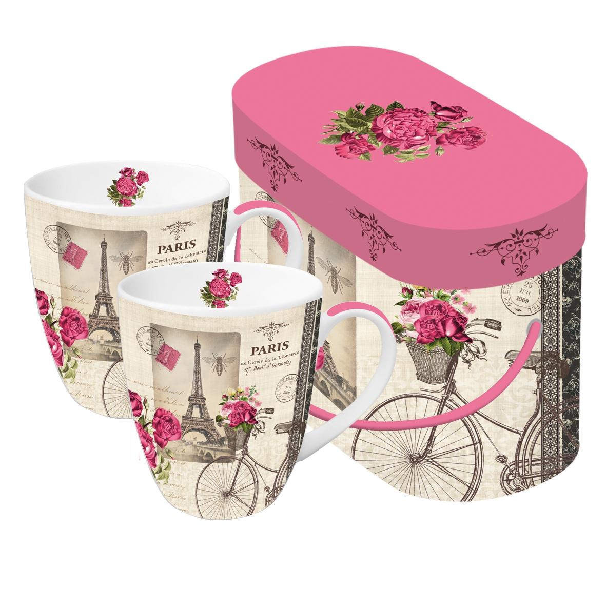Porzellan-Henkelbecher - Vélo Parisien