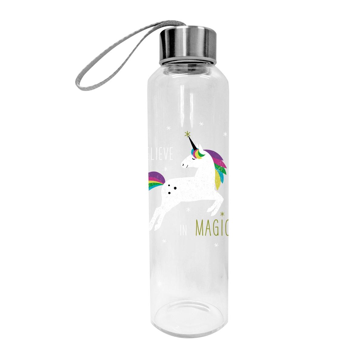 Glasflasche - Einhorn