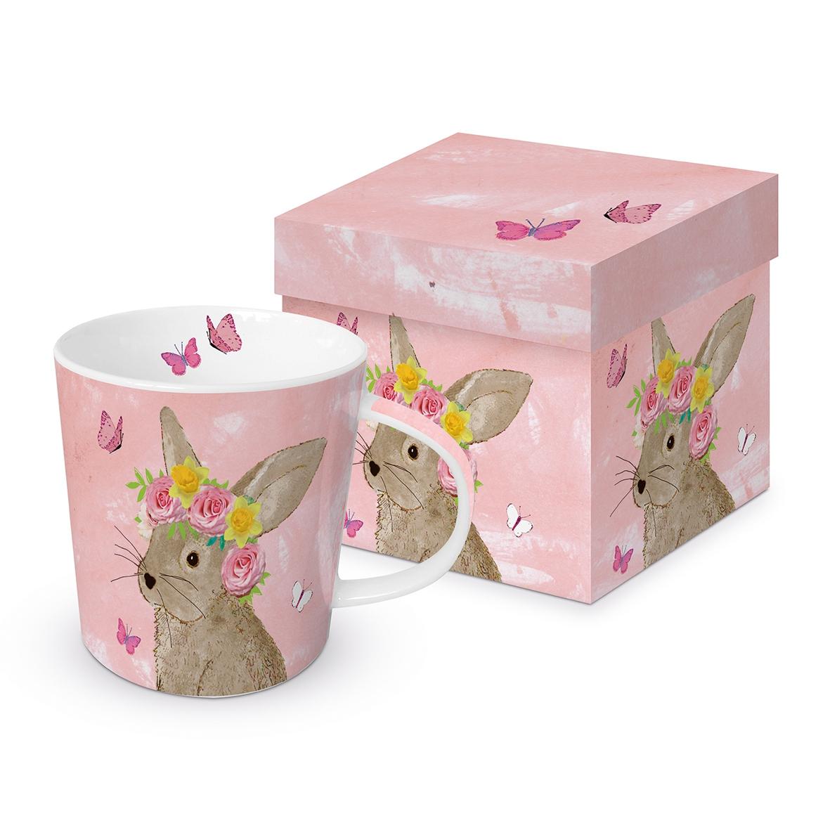 Porzellan-Henkelbecher - Easter Beauty