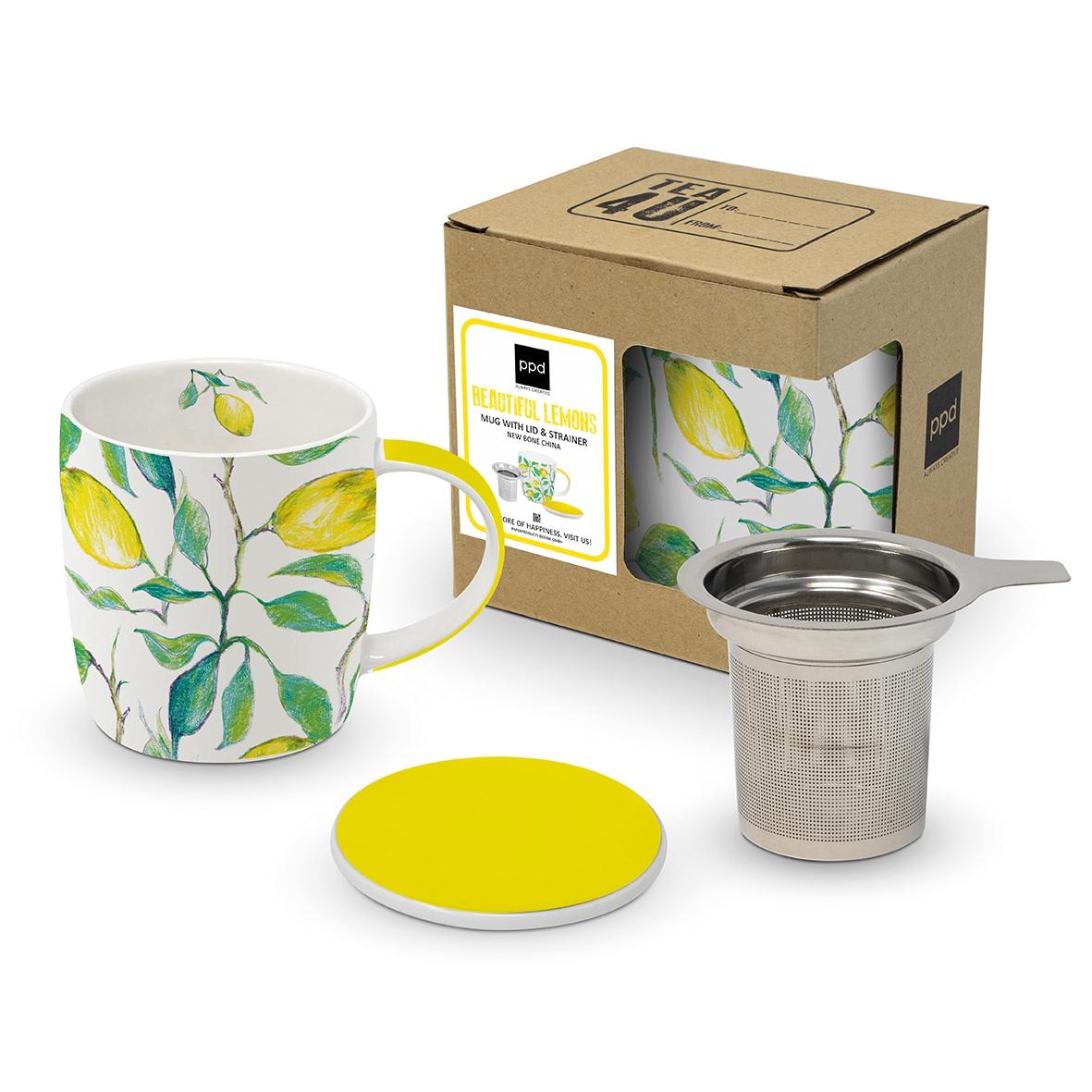 Tee-Tassen - Beautiful Lemons