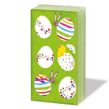 Taschentücher - Eier allover *