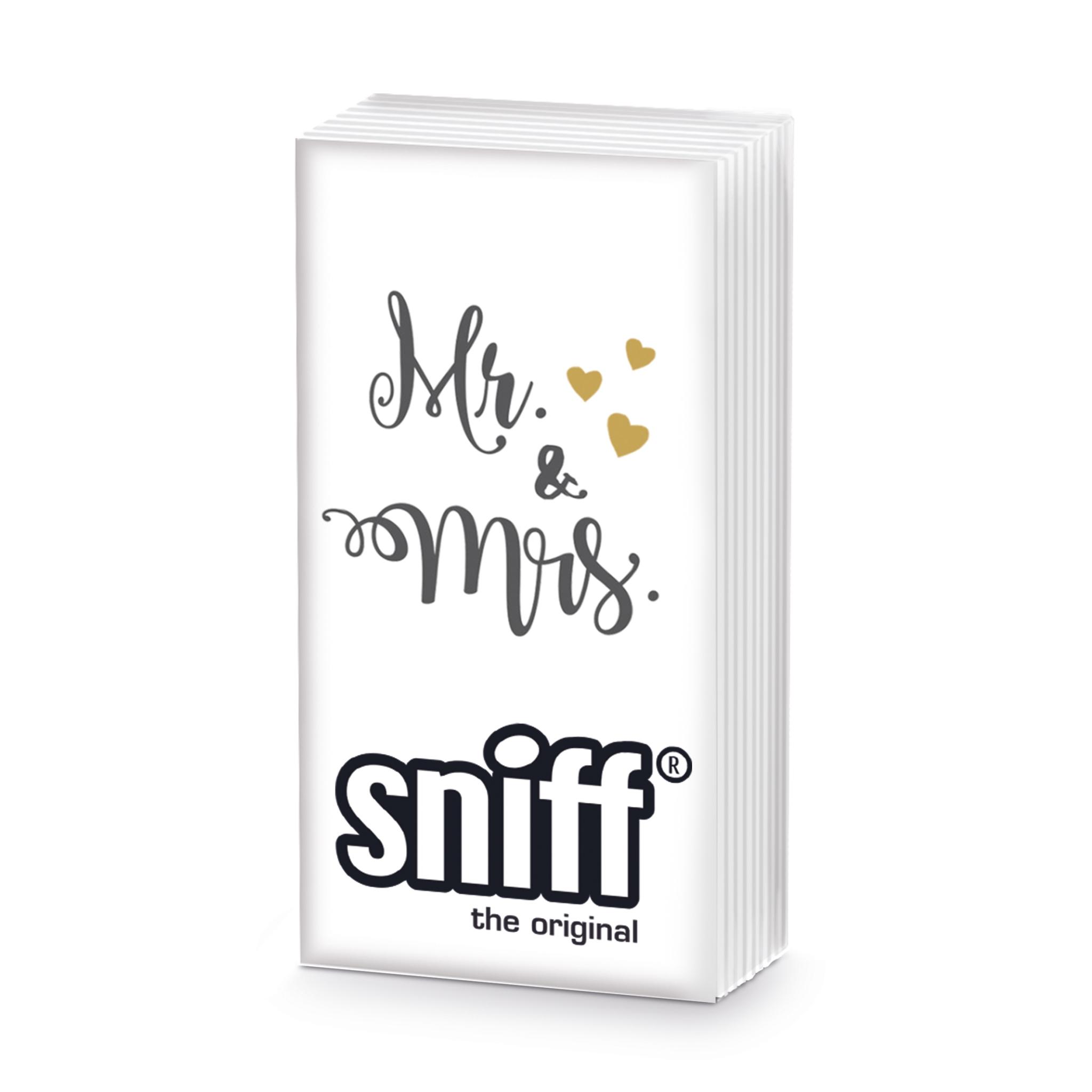 Taschentücher - Herr & Frau Sniff