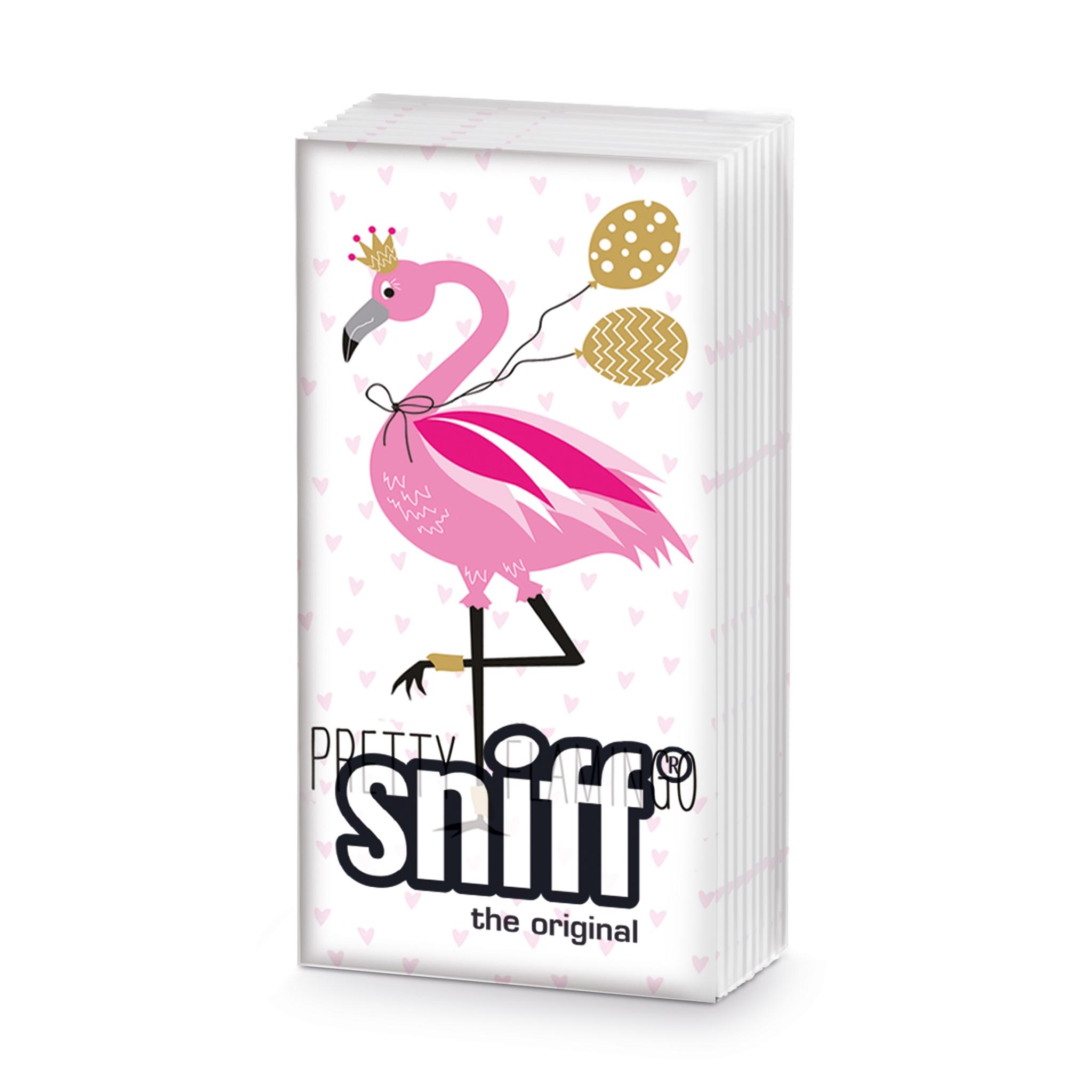 Taschentücher - Hübscher Flamingo Schnüffler