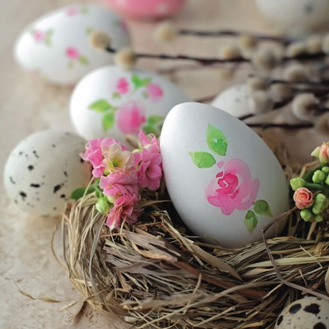 Servietten 33x33 cm - Painted Easter Egg