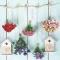 Servietten 33x33 cm - Bird Houses & Garden Flowers